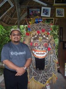 foto ayah di Bali