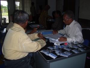 Pendaftaran Ulang Peserta LKGDP 2008