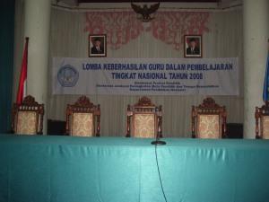 Tempat acara LKGDP 2008