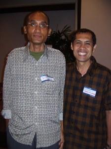 Dr. Anugerah dan Iwan Piliang