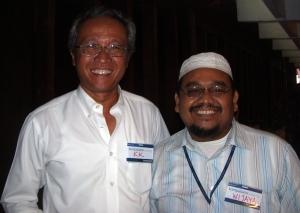 Bersama Menristek RI, Bpk. Prof. DR. Kusmayanto Kardiman