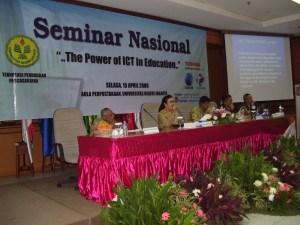 Seminar Nasional menjadi Serbuan para Guru
