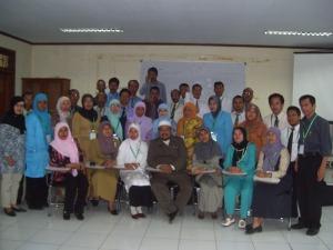 Peserta Diklat Fasilitator Guru PKN MA Tingkat Mahir Depag