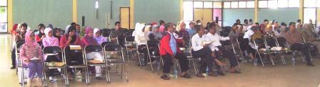 Peserta Workshop Karya Tulis Ilmiah Guru