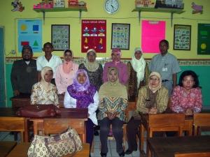 Guru-guru SDN papanggo 02 Petang Jakarta Utara