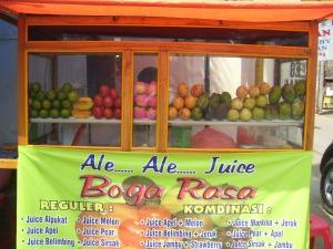 Penjual Juice Boga Rosa