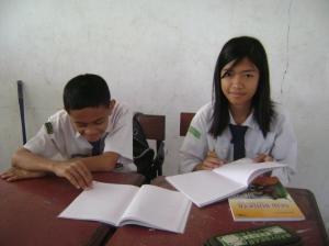 Siswa Belajar mandiri