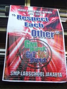 MOS 2010 di SMP Labschool Jakarta
