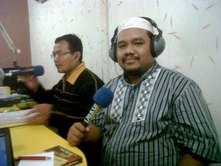 Omjay di Radio Dakta FM