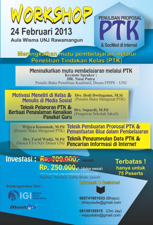 Workshop PTK