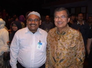 Omjay dan Pak JK di Global TV