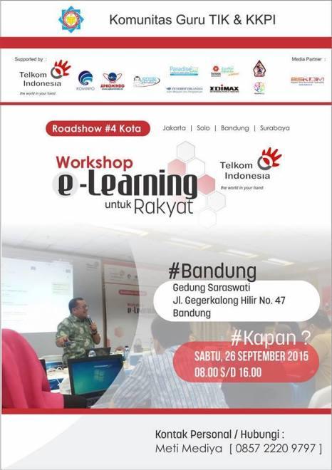 Workshop Elearning di telkom Bandung